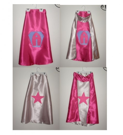 Pink Initial Star
