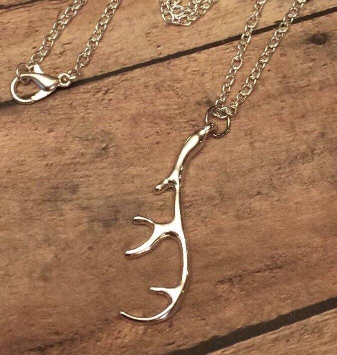 Antler necklace deer hunting deer season buck doe antler 995 aloadofball Gallery