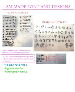 font and designs